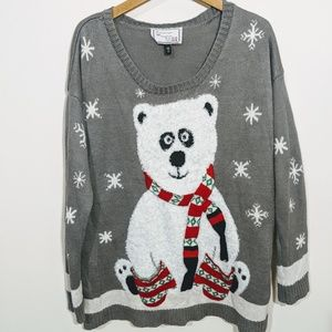 Derek Heart Ugly Christmas Sweater 2X